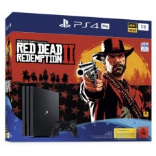 PlayStation 4 Pro Bundle (1 Tb, Red Dead Redemption 2), 235426, Консоли